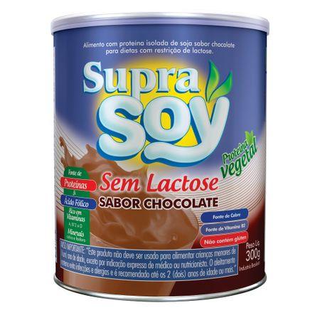 Alimento-em-Po-SupraSoy-Sem-Lactose-Sabor-Chocolate---300g